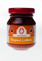"""Натуральное варенье малютка """"Ревень с персиком и апельсином"""",85г"""