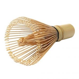 Часен - венчик из белого бамбука для заваривания Матча фото №1