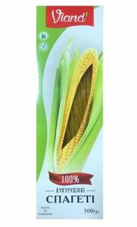 Кукурузные спагетти без глютена Viand 300 грм фото №1