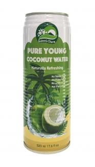 Натуральная кокосовая вода 520 мл фото №1