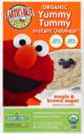 Organic Yummy Tummy Instant Oatmeal, овсяная каша 430 грамм