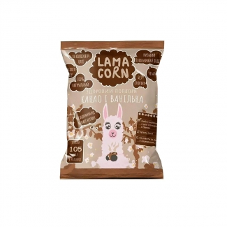 Здоровый попкорн Какао и ваниль, 20 грамм фото №1